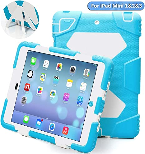 Amazon.com: aceguarder Apple iPad Mini 2 Case impermeable ...