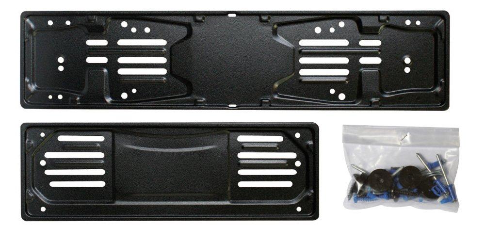 Cora 000116007 Set Portatarga 99, Metallo Anteriore e Posteriore con Kit Fissaggio Cora S.p.A
