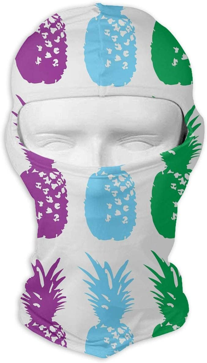 LZZ9UT Pineapple Ski Masks for Cycling Outdoor Sports Full Face Mask Balaclava Windproof Breathable
