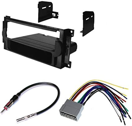 Coche Estéreo Dash instalar Kit de montaje mazo de cables ...