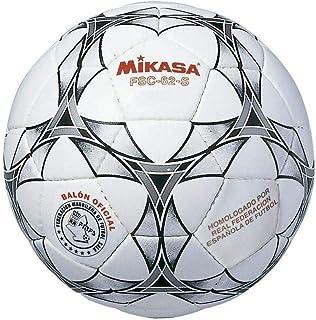 Mikasa FSC-62S Ballon de Futsal Mixte Adulte, Blanc/Noir, 62 cm MIKCG|#Mikasa FSC62S