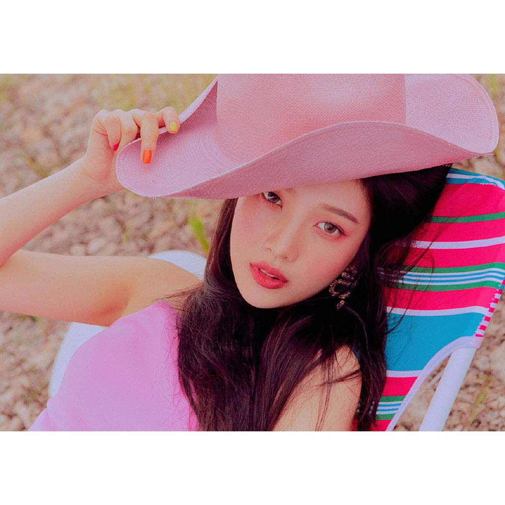 GOTH Perhk Kpop Red Velvet Album The Reve Festival Day 2 16.5/×11.8IN Poster Official Supported Poster PhotoCard PhotoBook for Red Velvet Fans Collection H01