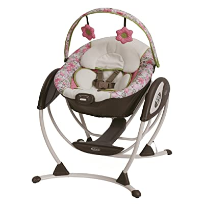 Features Of Graco Glider LX Gliding Swing Peyton