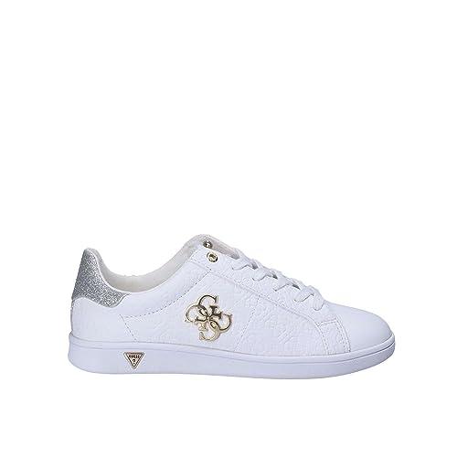 fc83b4ec Guess FLBYS1 LEA12 Zapatos Mujeres Blanco 41: Amazon.es: Zapatos y  complementos