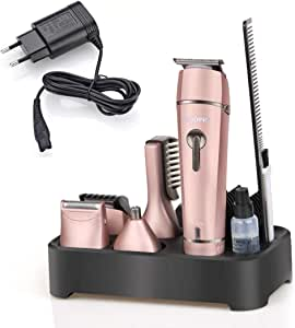 SSCJ Afeitadora eléctrica y Kit de Aseo 5 en 1 para Mujer ...
