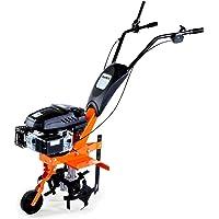 FUXTEC Benzin Gartenfräse FX-AF140 mit Motorhacke und Ackerfräse nutzbar als Kultivator mit Räder, 140ccm 3,3KW / 4,5PS