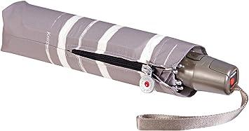 Knirps Regenschirm Damen Mini Taschenschirm  T2 Auf-Zu-Automatik stripe art