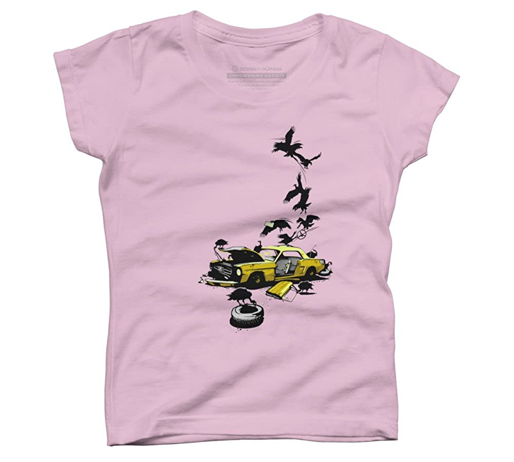 Design By Humans Dead Pony Girls Youth Graphic T Shirt