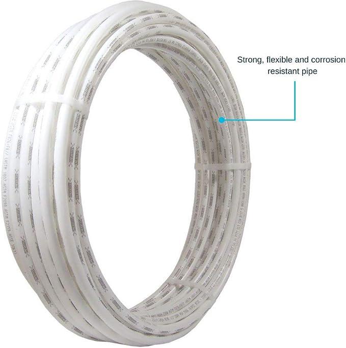 50 Foot Coil Flexible Water Tube U860B50 Blue SharkBite PEX Pipe Tubing 1//2 Inch Potable Water