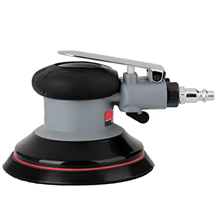 Heavy Duty Dual-Action Air Palm Orbit Sander Polisher with Backing Pad 6 Landscape Fabric Pegs, Pins & Staples