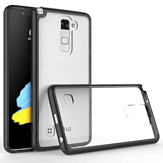 the latest 99a3b d870a LG Stylo 2 Plus/LG Stylus 2 Plus Case, LG Stylo 2V Case,[Crystal Clear]  [Air Hybrid] Ultra Slim Shockproof Protective Cover Case for LG Stylo 2  Plus - ...