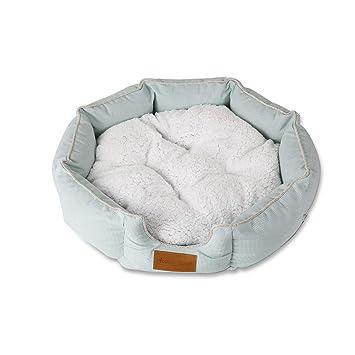 PETCUTE Cama para Perros Lujo Cama para Mascota de Suave Lana Lavable Cojín colchón para Perros: Amazon.es: Hogar