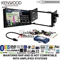 Volunteer Audio Kenwood Excelon DNX994S Double Din Radio Install Kit with GPS Navigation Apple CarPlay Android Auto Fits 2000-2005 Buick LeSabre, 2000-2005 Pontiac Bonneville (With Bose)