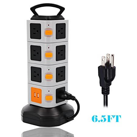 Review ONEreach Power Strip Tower