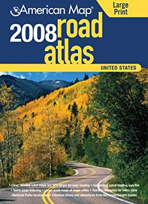 American Map 2008 United States Road Atlas (American Map Road Atlas)