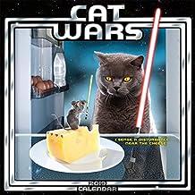 2019 Cat Wars Mini Calendar: by Sellers Publishing, 7x7 (CS-0477)
