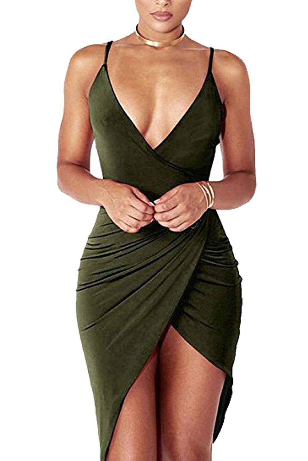 93f53345e028 Top 10 wholesale Deep Plunge Bodycon Dress - Chinabrands.com
