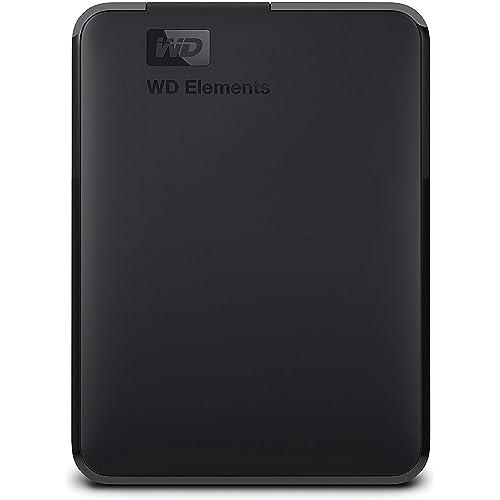 WD Elements Disco duro externo portátil de 4 TB con USB 3 0 color negro