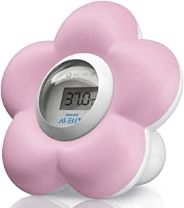 Philips Avent Digital Bath & Room Thermometer, Pink, SCH550/21