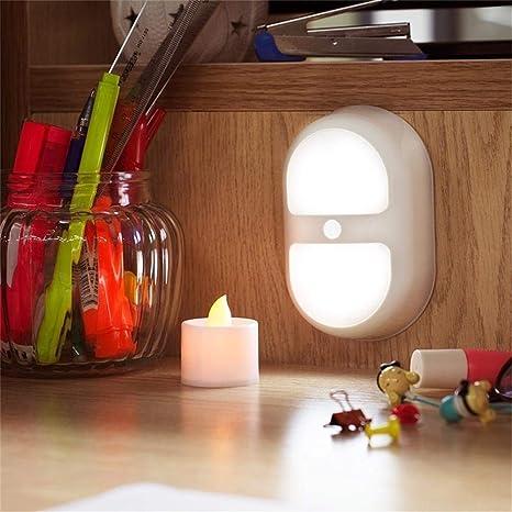Luz Nocturna con sensor de movimiento y de claridad ,Adaptarse a Pasillo, Escalera,