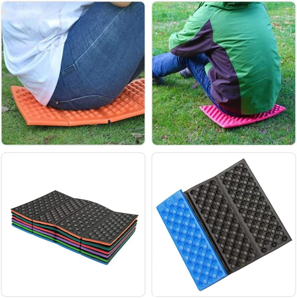Foldable Camping Foam Seat Cushion Sitting Mat Hiking Beach Picnic Pad Soft X BE