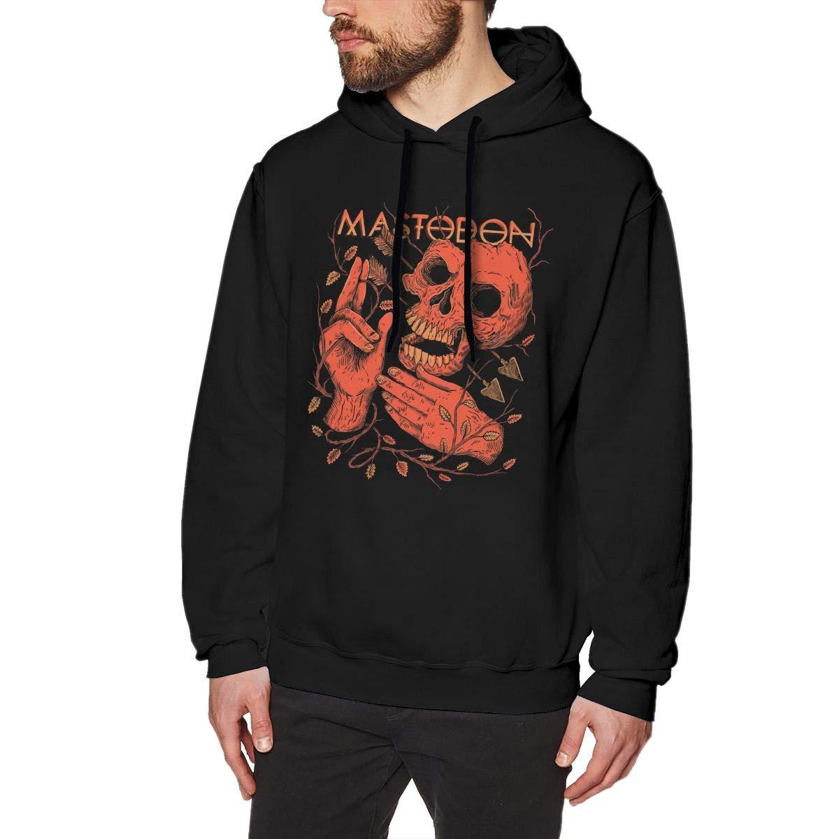Mastodon Crack The Skye Men No Pocket Pullover Hooded Sweatshirt