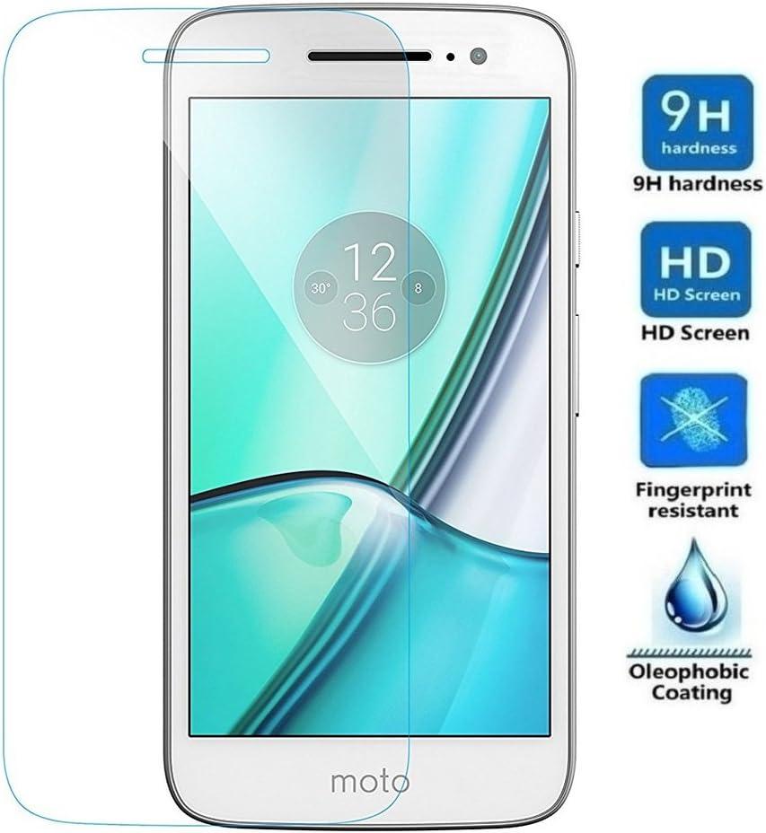 REY Protector de Pantalla para Motorola Moto M, Cristal Vidrio Templado Premium: Amazon.es: Electrónica