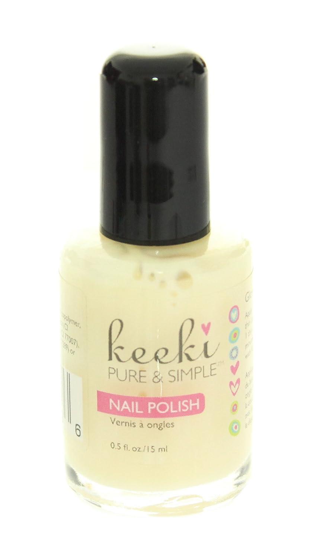 Amazon.com : Keeki Pure & Simple Nail Polish, Glow In The Dark, .5 ...