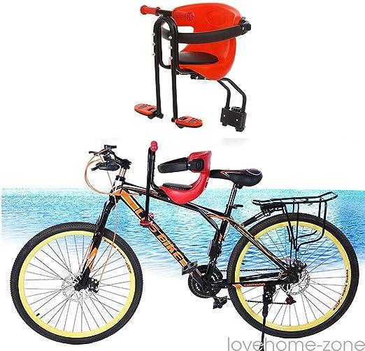 Midiao Asiento Delantero Kid Asiento Portable de la Bicicleta de ...