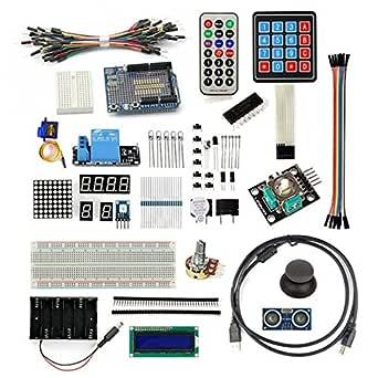 SainSmart Proyecto de 20 – 013 – 305 Starter Kit para Arduino UNO R3 Mega2560 Mega328 Nano,: Amazon.es: Industria, empresas y ciencia