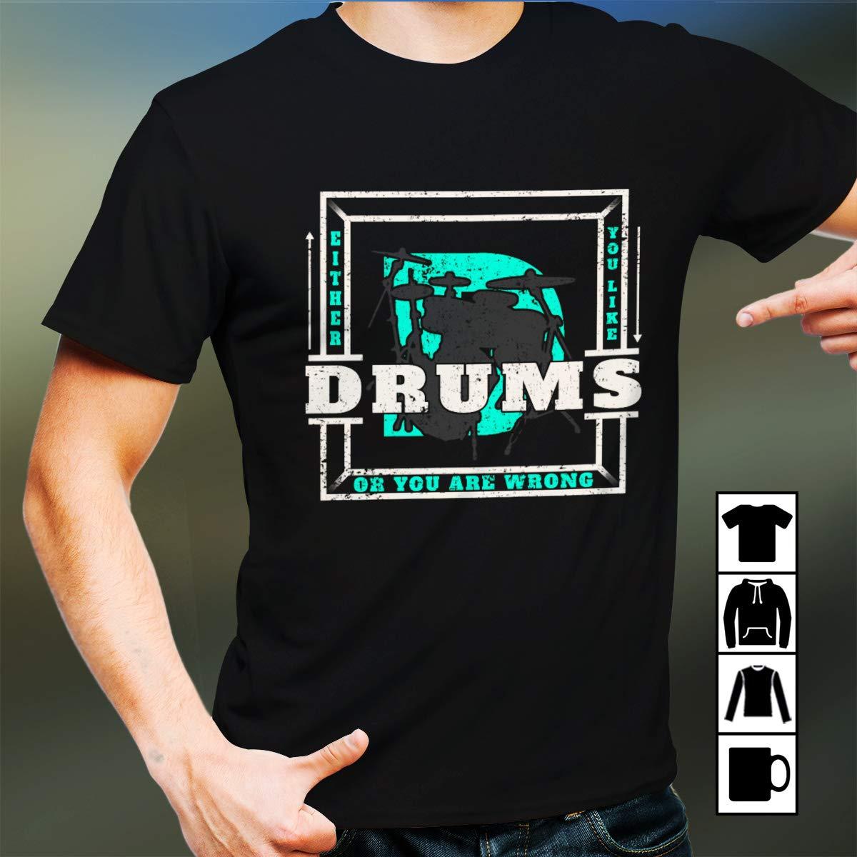 Drums Tshirt Drums T Shirt 7459