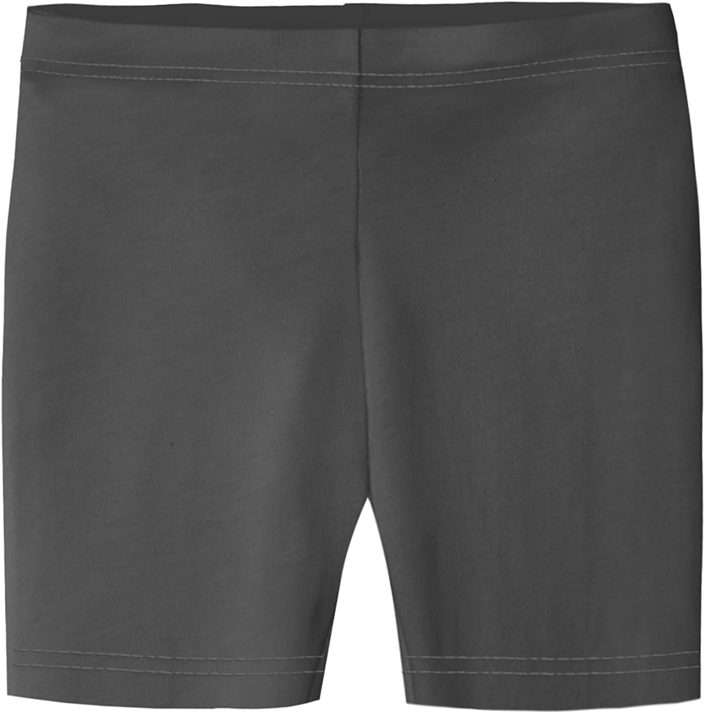 or Under Skirts Made in USA School Uniform City Threads Girls 100/% Cotton Bike Shorts for Sports