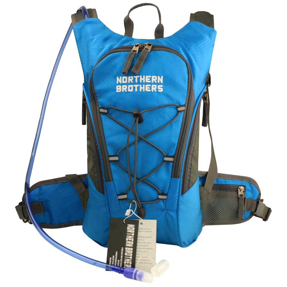 Amazon.com : Hydration Backpack Bladder Pack Daypack with 3 Liter ...