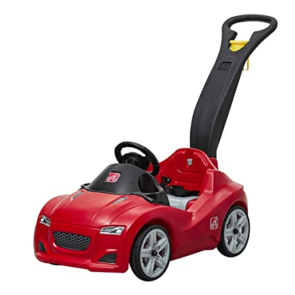 29d7158b61d Amazon.com: Step2 Whisper Ride Cruiser Ride-On Toy, Red (Amazon Exclusive):  Toys & Games