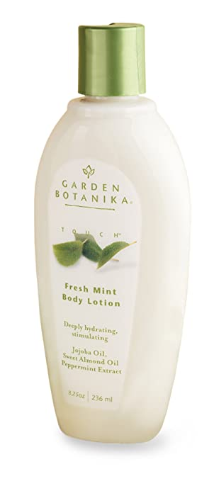 Amazoncom Garden Botanika Body Lotion Fresh Mint 8 Fluid