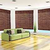 Arlo Blinds Java Vintage Bamboo 74-inch Length Shade 40 - 49 Inches 45 x 74