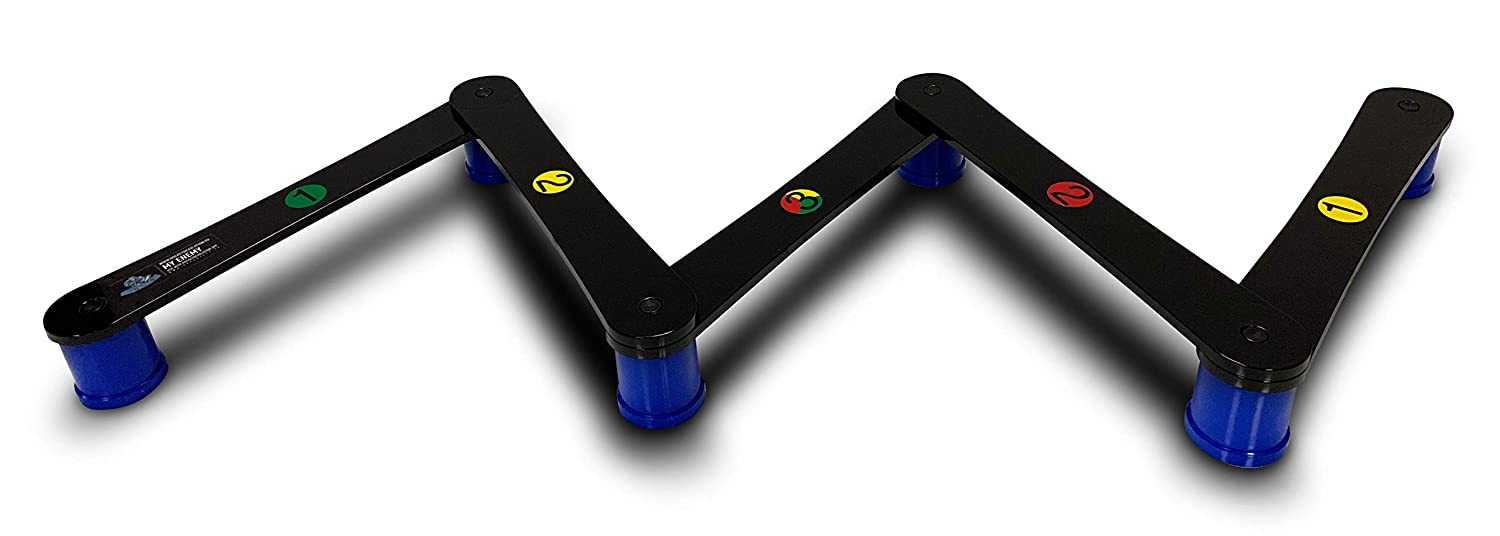Equipment for Puck Control Reaction Time and Coordination 2nd Generation Hockey Revolution Stickhandling Training Aid