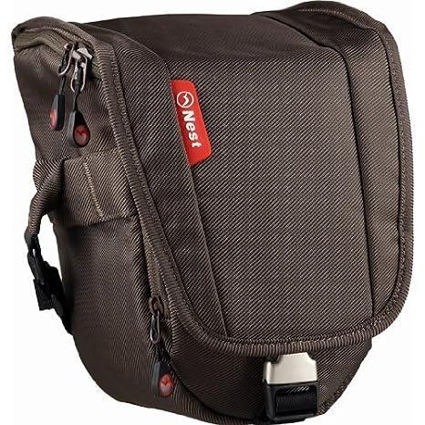 De nido de Athena S30 marrón cámara bolsa para fotografía/zoomster ...