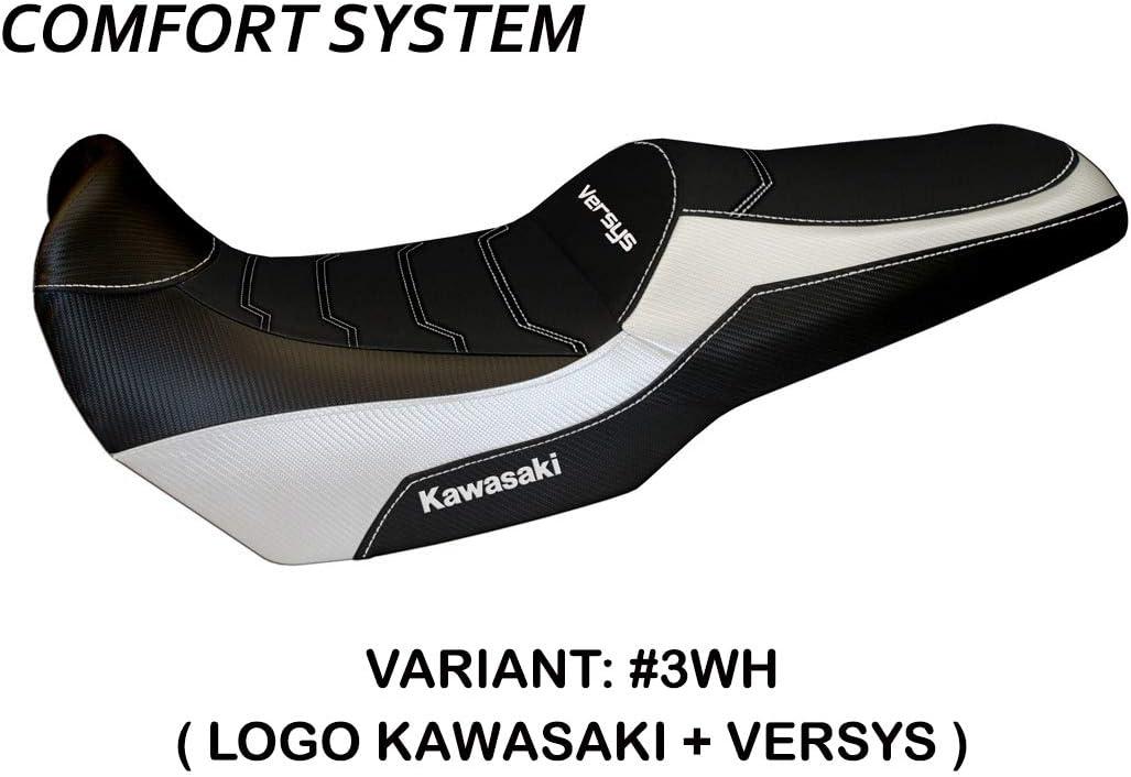 Mod Malay Comfort System Tapete Italia Schwarz Bezug f/ür Sattel Kawasaki Versys 1000 from 2019