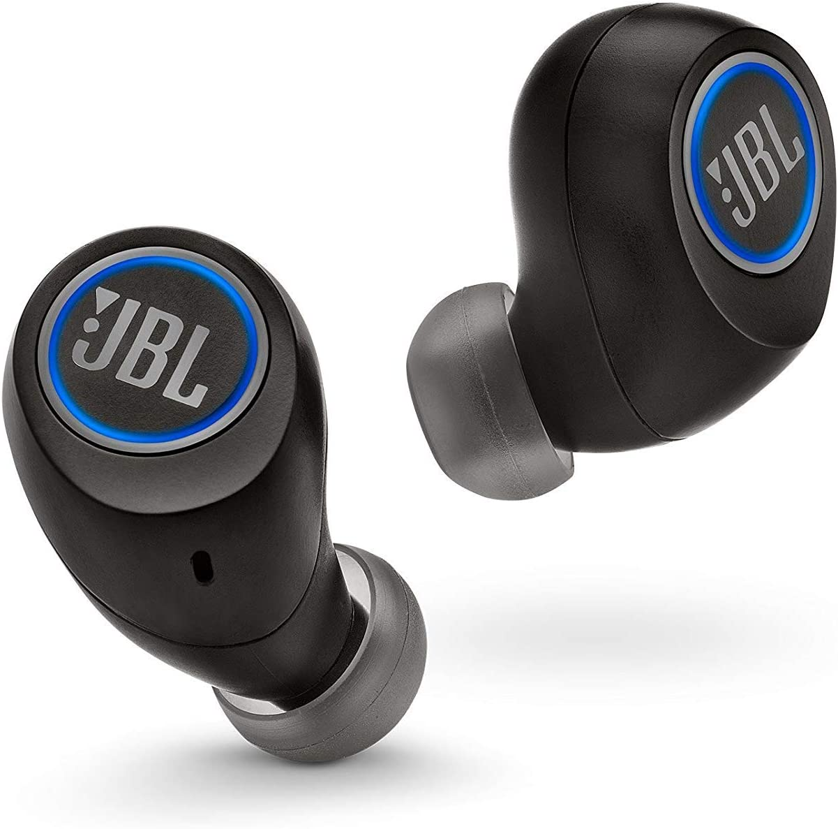 JBL Free Truly Wireless In-Ear Headphones (Black) (Renewed)