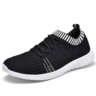 BEJINASH Women's Comfortable Walking Shoes Casual Lightweight Knit Slip on Sneakers | Walking