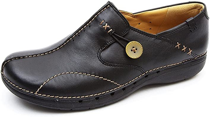 Clarks Un Loop Womens Wide Casual Shoes