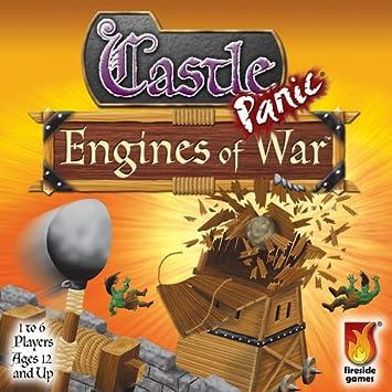 Fireside Games FSG01007 Castle Panic: Engines of War Expansion - Juego de Mesa (Contenido en alemán): Amazon.es: Juguetes y juegos