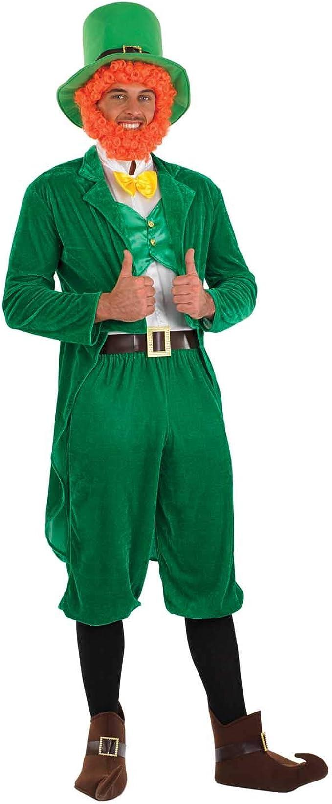 WIM 96741 Kobold St Patricks Day Leprechaun Glück Fest  Fasching Herren Kostüm
