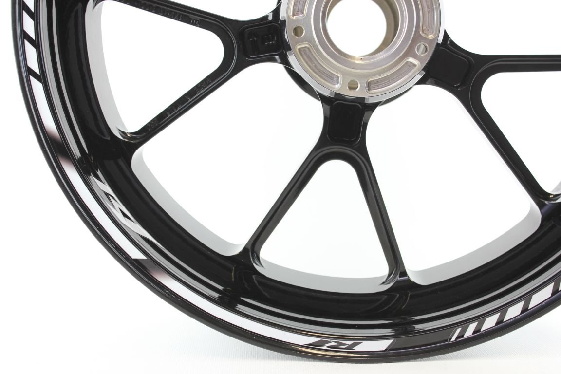 Liserets de Jantes SpecialGP Moto Yamaha YZF R1 Blanche Autocollants
