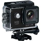 """SJCAM SJ4000 (versión española) - Videocámara Deportiva (LCD, 2"""", 1080p, 30 fps, Sumergible), Color Negro…"""