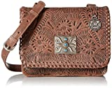 American West Grand Prairie Flap Crossbody, Dusty Rose