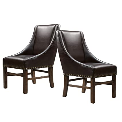 Best Selling Home Caden Parsons Dining Chair   Set Of 2