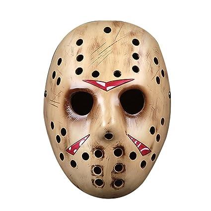 alxcio Halloween Mask Máscara resina película edición tema Collector de máscara de Halloween para regalo Cosplay