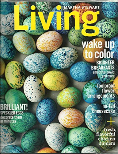 Assortment Cheesecake (Martha Stewart Living March 2016 Wake Up To Color)